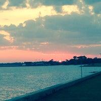 Photo taken at Sea Wall NAS Pensacola by Kimberly V. on 9/27/2013