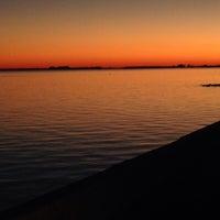 Photo taken at Sea Wall NAS Pensacola by Kimberly V. on 2/28/2014