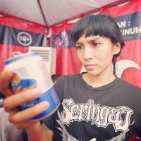 Photo taken at Lapangan SPN by Ade Putri P. on 8/16/2015