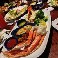 Photo taken at Red Lobster by Marshall G. on 7/4/2013