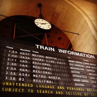 Photo taken at New Haven Union Station (NHV) - Metro North/Amtrak/Shore Line East by David G. on 10/6/2012
