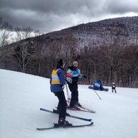 Photo taken at Hunter Mountain Ski Resort by David G. on 3/1/2013