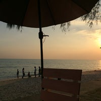 Photo taken at Nam Rin Beach by Thiprapha P. on 12/18/2016