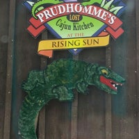 Photo taken at Prudhomme's Lost Cajun Kitchen by Cindy T. on 6/15/2016