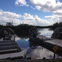 Photo taken at Jungle Erv's Airboat Tours by Teun A. on 1/17/2013