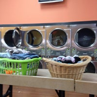 Photo taken at Jacky's Coin Laundry by Manuel O. on 9/1/2013