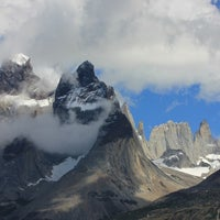 Photo taken at Parque Nacional Torres del Paine by Kim S. on 12/17/2012