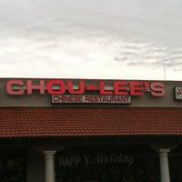Photo taken at Chou-Lee's by Pretty Brown Eyez . on 12/20/2012