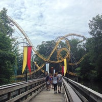 Photo taken at Loch Ness Monster - Busch Gardens by Jordan B. on 8/1/2013