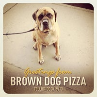 Photo taken at Brown Dog Pizza by Alberto L. on 3/20/2013