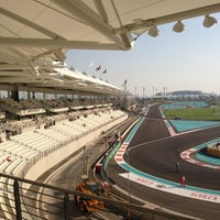 Photo taken at Yas Marina Circuit by MR on 11/2/2012