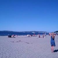 Photo taken at Alki Beach Park by Dan L. on 7/3/2013