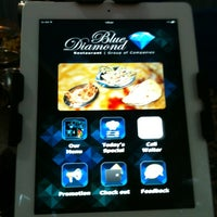 Photo taken at Blue Diamond Restaurant by Nurfarina H. on 9/25/2013