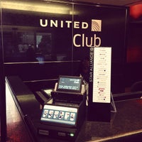 Photo taken at United Club by Jason C. on 7/13/2013