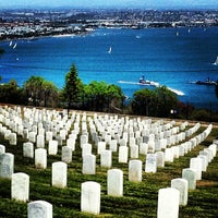 Photo taken at Fort Rosecrans National Cemetery by Jason C. on 4/10/2013