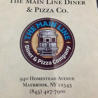 Photo taken at Main Line Diner and Pizza Company by Skeet S. on 1/2/2013