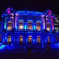 Photo taken at Theatro Municipal de São Paulo by Raquel L. on 5/15/2013