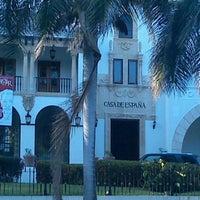 Photo taken at Casa de España by Monika W. on 4/8/2013