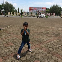 Photo taken at Taman Raflesia (Alun Alun Ciamis) by Ratna H. on 12/1/2016