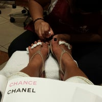 Photo taken at Serendipity Nails by Knoll B. on 9/28/2013