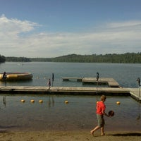 Photo taken at Camp Wilderness Waterfront by Josh S. on 7/25/2013