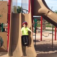 Photo taken at Shamrock Estates West Playground by Ken C. on 3/18/2014