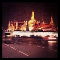Photo taken at Sanam Luang by k_bkk B. on 8/2/2013