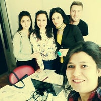 Photo taken at information language schools by Sevda K. on 5/9/2015