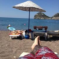 Photo taken at Perili Bay Resort by Metin on 6/18/2013