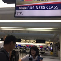Photo taken at Philippine Airline Check-in Counter A by Ma. A. on 6/14/2018