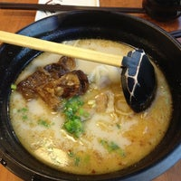Photo taken at Ajisen Ramen (味千拉麵) by James H. on 8/20/2013