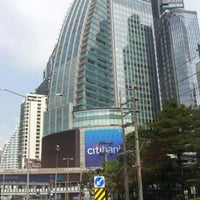 Photo taken at Asok Intersection by ณุ i. on 1/27/2013