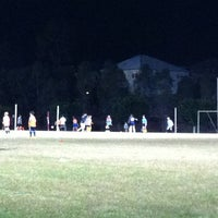 Photo taken at Springfield Lakes Oval by Jecy R. on 8/5/2013