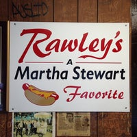 Photo taken at Rawley's Hot Dogs by David E. on 5/22/2014