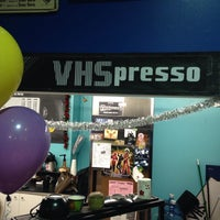 Photo taken at VHSpresso at Scarecrow video by David E. on 12/13/2013