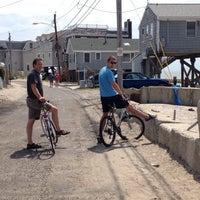 Photo taken at Fairfield Beach by Julia on 7/20/2014