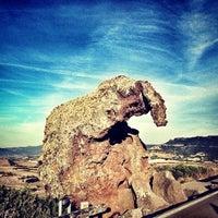 Photo taken at Roccia Dell'elefante by Kuba P. on 8/31/2013