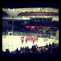 Photo taken at Tipsport Arena by Kuba P. on 12/5/2012