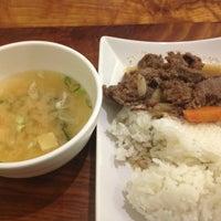 Photo taken at Bibimbab Cafe by Dan on 2/26/2013