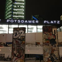 Photo taken at Potsdamer Platz by J L. on 2/25/2013