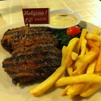 Photo taken at Steak Hotel by Holycow! TKP Radal by Frizal G. on 8/11/2013