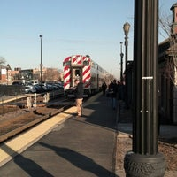 Photo taken at Metra - Barrington by Jeffrey S. on 4/5/2013