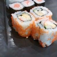Photo taken at Sushi Kiosk by Upin I. on 9/13/2014