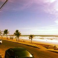 Photo taken at Praia de Ipitanga by Jefferson B. on 1/17/2013