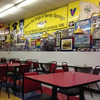 Photo taken at Mike's Chicago Hot Dogs by Kyle W. on 10/25/2012