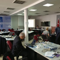 Photo taken at UNDP Istanbul Center For Private Sector In Development by Samih Y. on 5/21/2013
