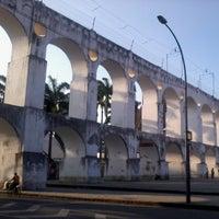 Foto tirada no(a) Arcos da Lapa por Fabiano F. em 3/8/2013