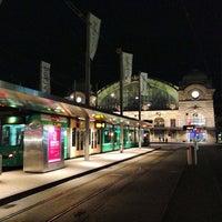 Photo taken at Basel SBB Railway Station by Ilya Z. on 3/8/2013