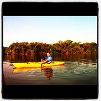 Снимок сделан в White Rock Lake Park пользователем Oscar E. 9/22/2012