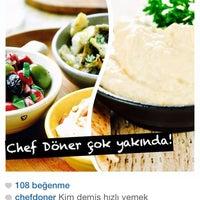 11/22/2014 tarihinde Chef D.ziyaretçi tarafından Chef Döner'de çekilen fotoğraf